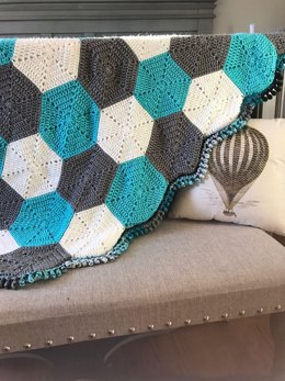 Hexagon Baby Blanket