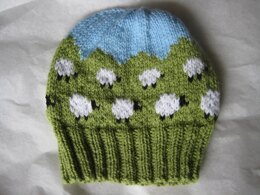Hilly Sheep Baby Hat