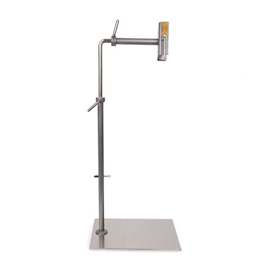 Lowery Workstand with Side Clamp - Powder Coated Silver Grey
