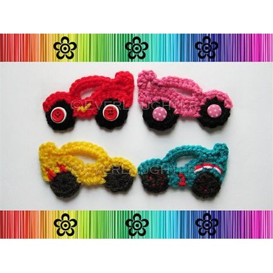 Race Car Applique