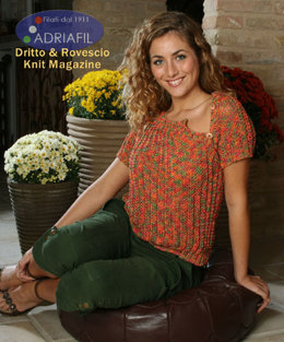 Girasole Top in Adriafil Swing - Downloadable PDF