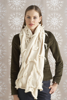 Felted Ethereal Scarf in Lion Brand Wool-Ease - 70770AD