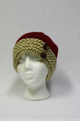 Bulky Contrast Brim Hat
