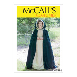 McCall's Misses' Costume M7886 - Sewing Pattern