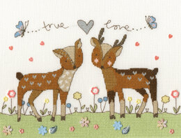 Bothy Threads Love you Deerly Cross Stitch Kit