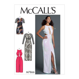 McCall's Misses' Dresses M7866 - Sewing Pattern