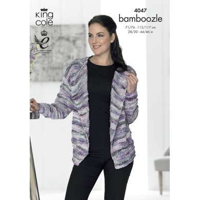 Jacket and Waistcoat in King Cole Bamboozle - 4047