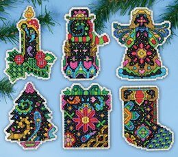 Design Works Fantasy Traditional Ornaments Cross Stitch Kit