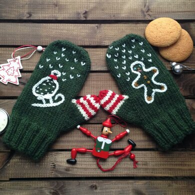 Christmas Stories Mittens