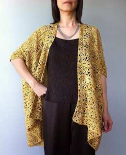 Arianna - two-way floral lace cardigan