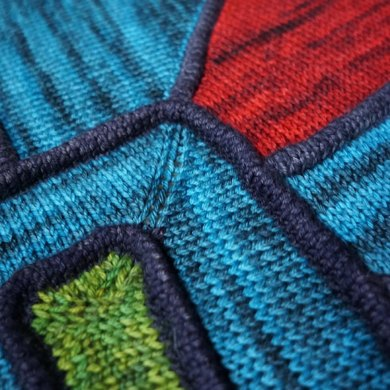 Stained Glass Throw
