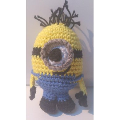 Minion Amigurumi Crochet Pattern By Patricia Stuart Knitting