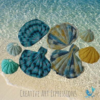 Seashell Scrubby & Towel Collection