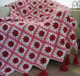 Love's First Blush Afghan