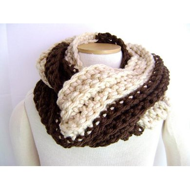 Crochet Scarf Chunky and Chic