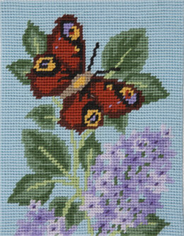 Anchor Starter: butterfly Floral Tapestry Kit