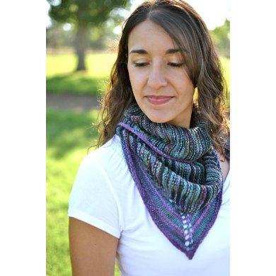 Sea Glass Shawlette