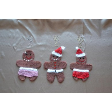 Felted Holiday Ornaments