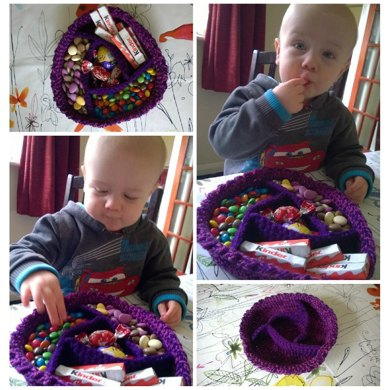Crochet Pattern for a confectionary bowl!