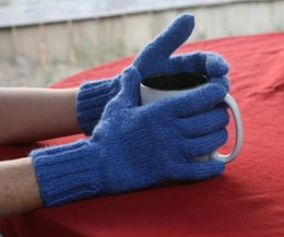 Learn to Knit Gloves