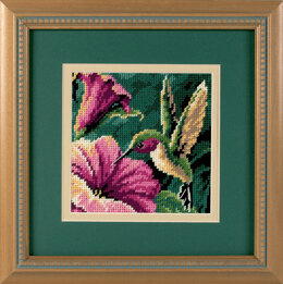 Dimensions Hummingbird Drama Tapestry Kit - 13 x 13 cm