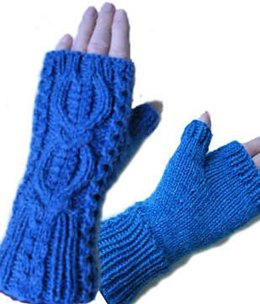 Mooncoin fingerless mitts