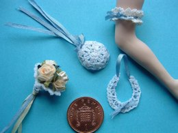 1:12th scale wedding favours