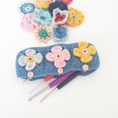 Petal Square Pencil Case
