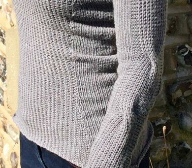 Tailored Rib Sweater