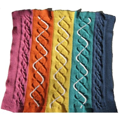 Double Cable Blanket