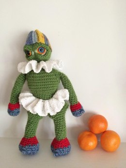 Holiday Monster Doll