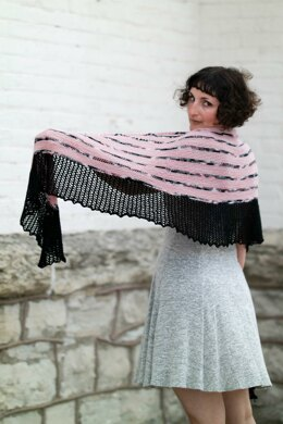 Can Can Shawl