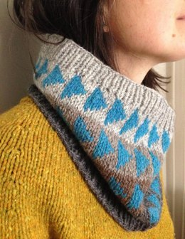 Flying Geese Cowl