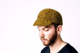 Tweed Cycle Cap