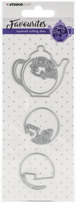 Studio Light Favourites Layered Cutting & Embossing Die - 580302