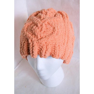 Heart Cabled Hat