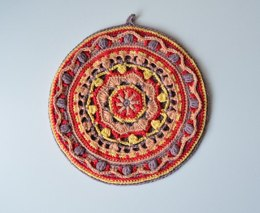 Mandala Pot Holder