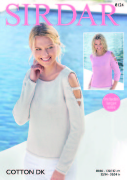 Sweaters in Sirdar Cotton DK - 8124 - Downloadable PDF