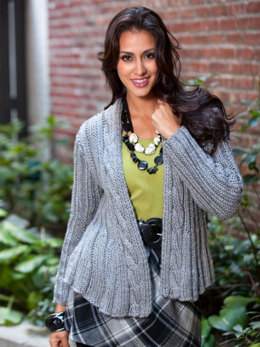 Swing Jacket in Caron Simply Soft - Downloadable PDF