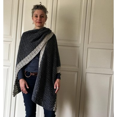 Crochet Wrap Pattern Wicked Pretty Crochet Ruana Crochet Pattern By
