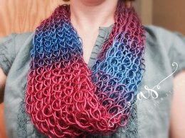 Lacy Eights Infinity Scarf