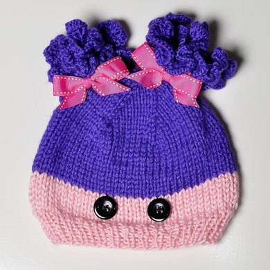 Sew Cute Child's Knitted Character Hat