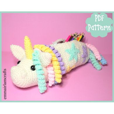 Unicorn Pencil Case Crochet Pattern