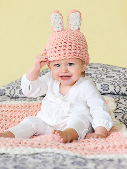 Bunny Hat & Blankie in Spud & Chloe Outer - 9212