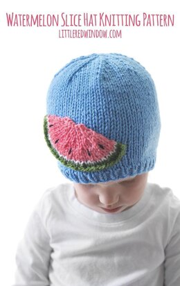 Watermelon Slice Hat