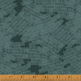 Windham Fabrics Pencil Club - Pthalo Green Marks