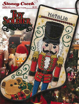 Stoney Creek Toy Solider Stocking - SCL461 -  Leaflet