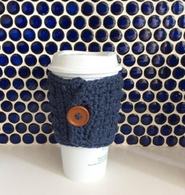 Puff Stitch Coffee Cup Sleeve