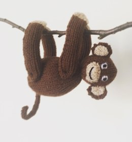 Monkey soft toy plushie amigurumi