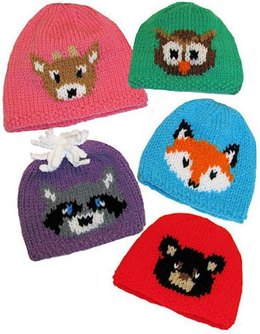 Forest Friends Hats to Knit